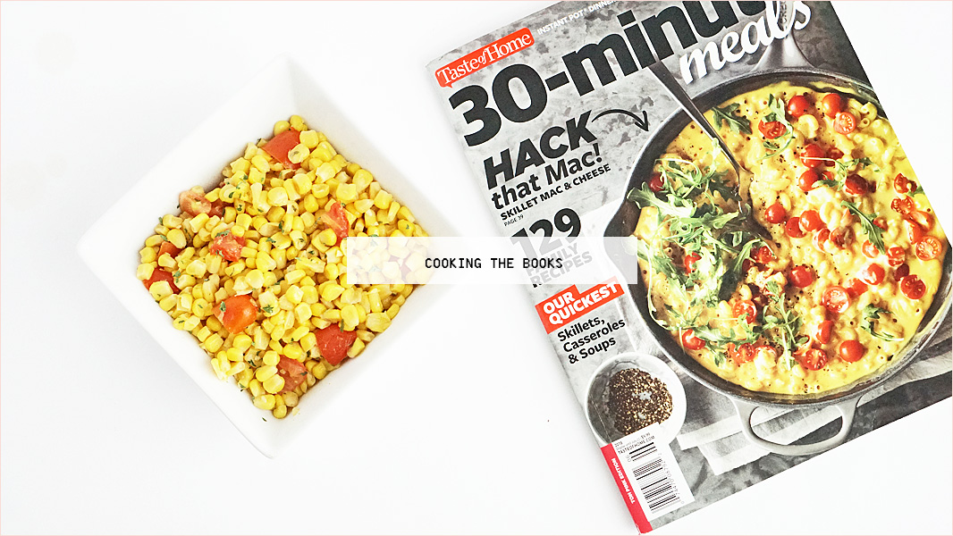 Cooking the Books Southwestern Sauteed Corn