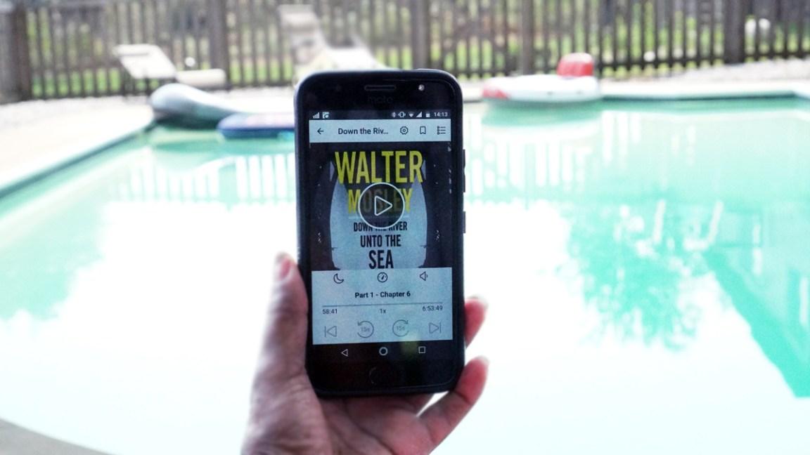 Audiobook Listening on Overdrive