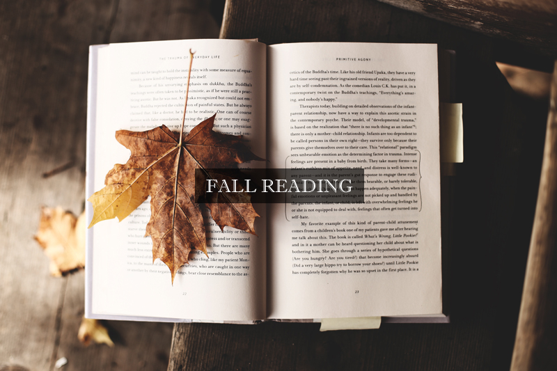 10 Books on Our Fall (R)eading List