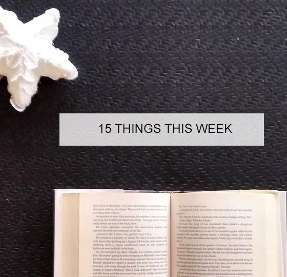 15 things thi sweek