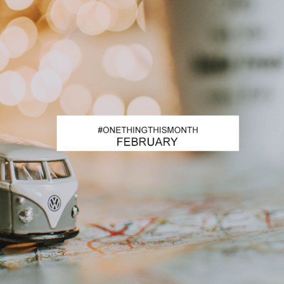 One Thing This Month February
