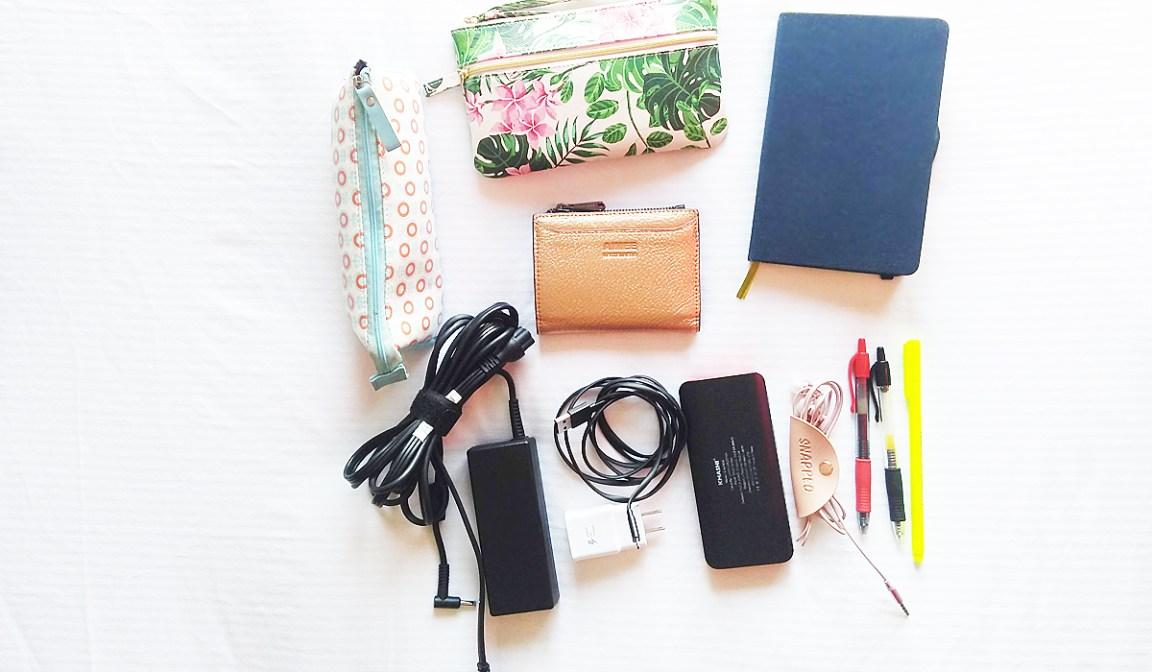 Inside My Work Bag