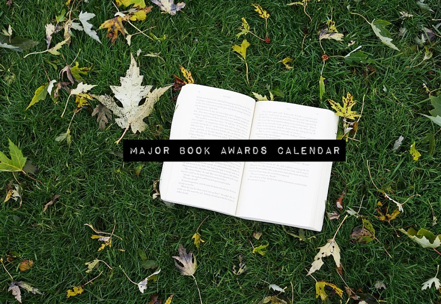2020 book awards calendar