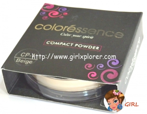 Coloressence Compact Powder Review