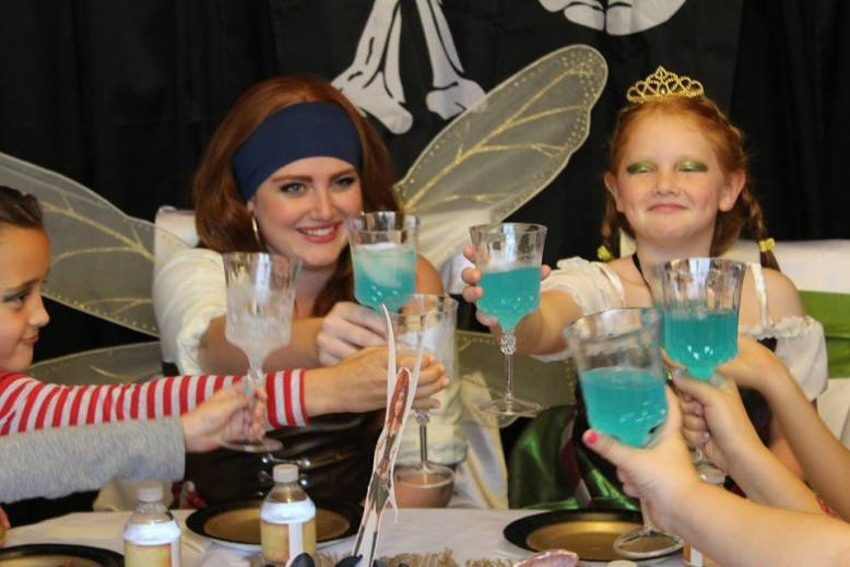 Pirate Fairy Birthday Party