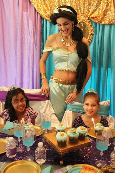 Jasmine Princess Party Greensboro