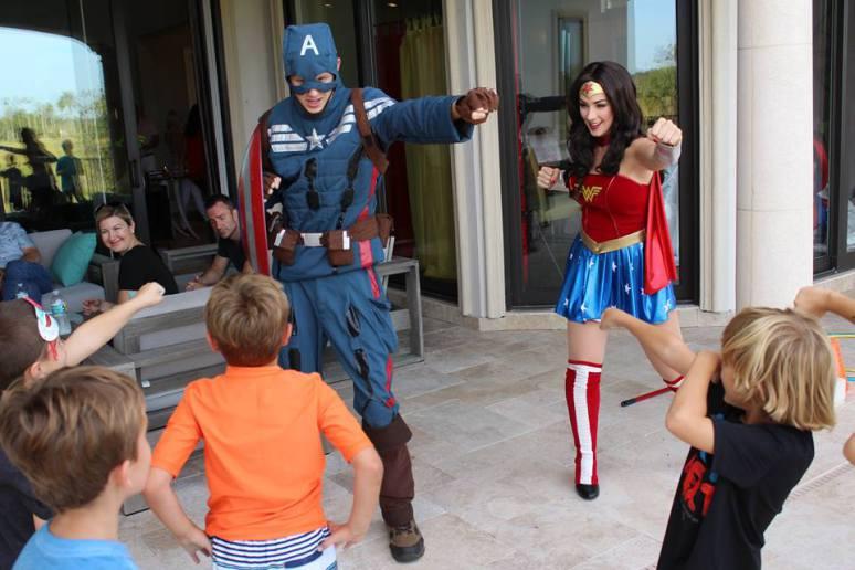 Superhero-Birthday-Combat-Training