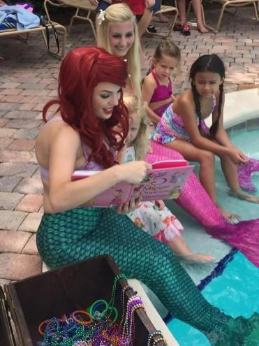 Jacksonville Mermaids Pool Party