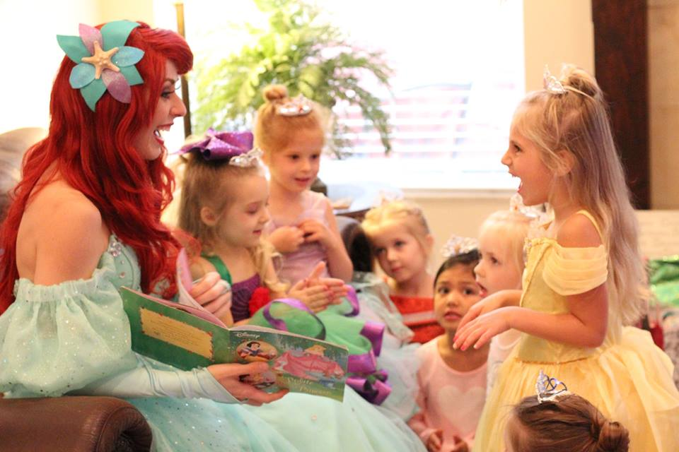 Jacksonville Ariel Little Mermaid Birthday Party Story Time
