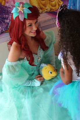 Ariel Little Mermaid Princess Character for Birthday