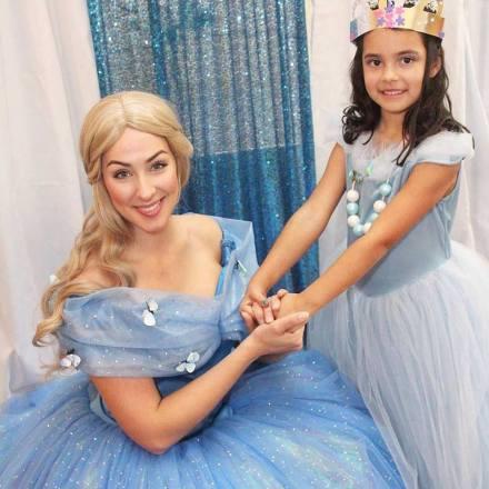 St Augustine Ella Live Action Cinderella Themed Birthday Party