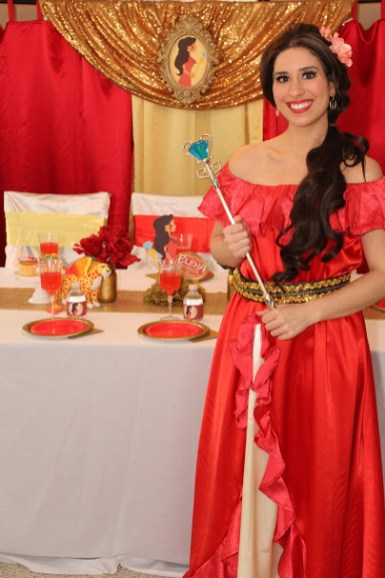 St Augustine Elena of Avalor birthday party