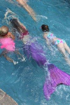 Mermaid Races Birthday Party