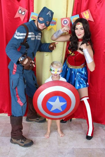 Jacksonville Superhero Avengers Birthday Party