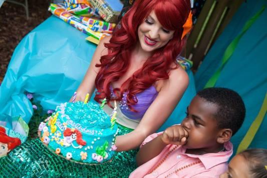 Ariel Inspired Little Mermaid St Augustine, Florida