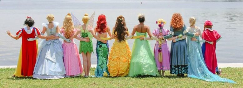 St Augustine Florida Disney Inspired Princess Party Characters for Hire