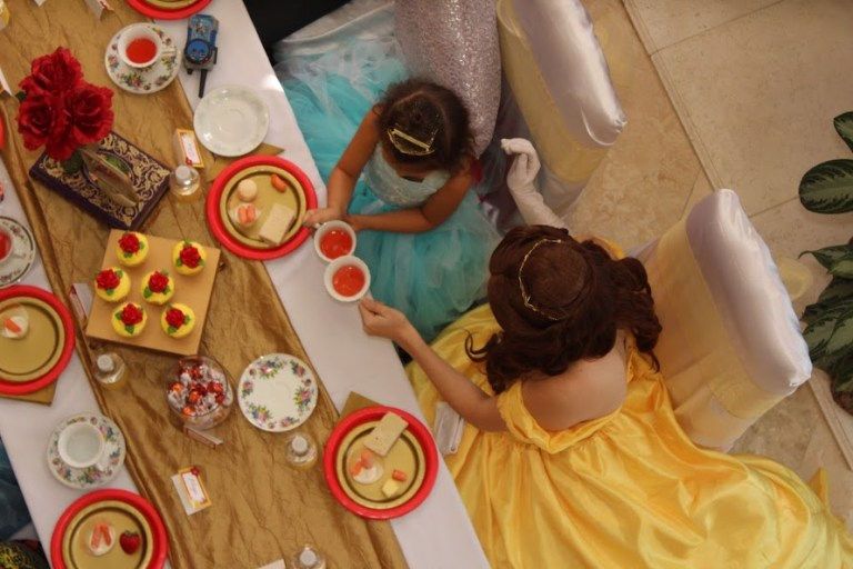 St Augustine Princess Party - Tea Party for Kids