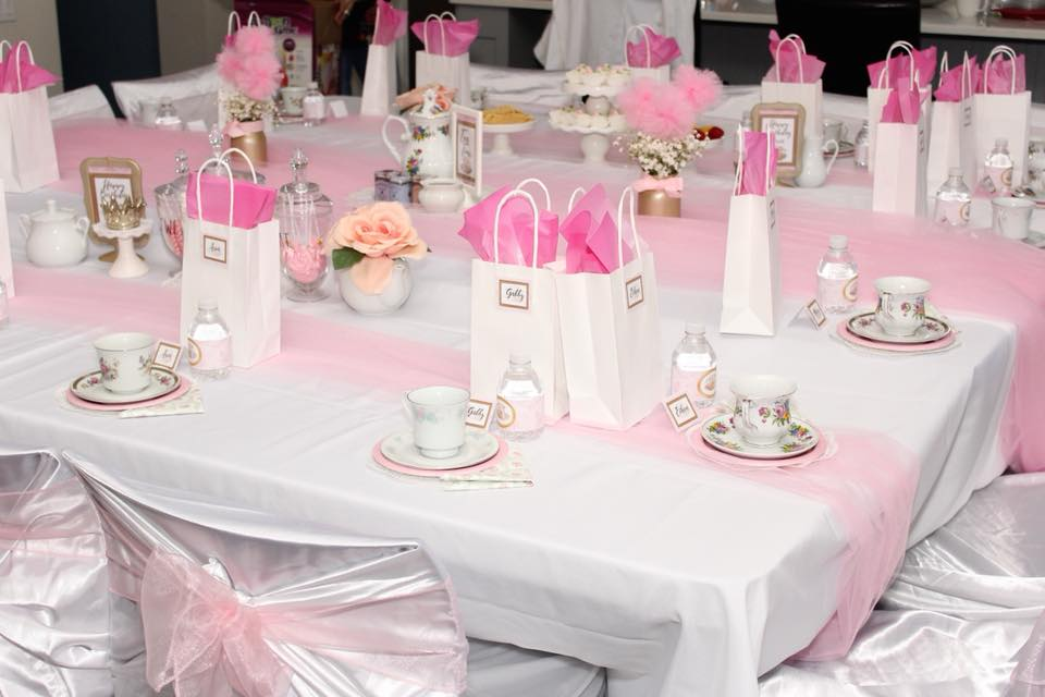 Kids Tea Birthday Party Planner