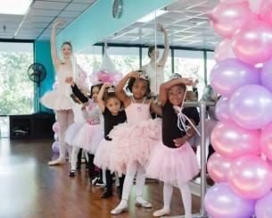 Ballerina Tea Party Planning