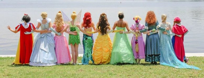 Disney Inspired Princess Party Characters for Hire Greensboro