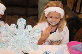 Frozen Spa Birthday Party 1