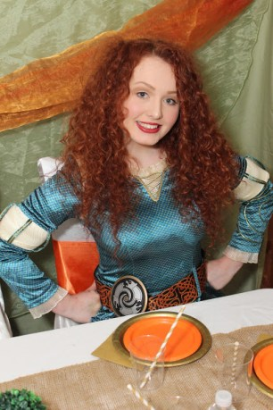 Merida Brave Inspired Princess Party Jacksonville