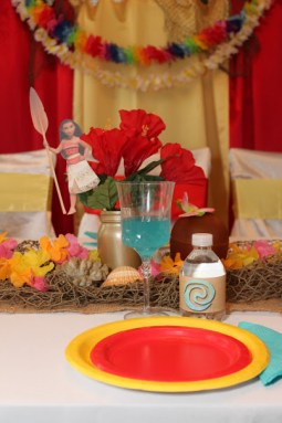 Moana Hawaiian Princess Party Birthday Jacksonville