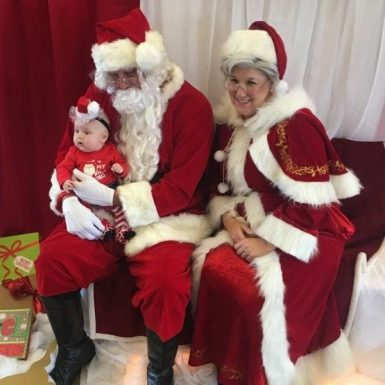 Santa and Mrs Claus Christmas Party