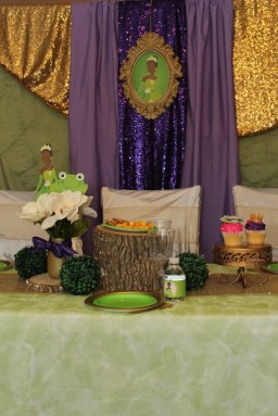 Tiana Inspired Frog Princess Party Jacksonville