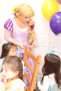 Tangled Inspired Rapunzel Princess Party Jacksonville