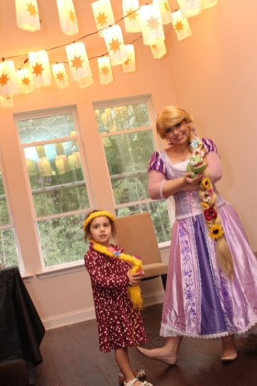 Tangled Inspired Rapunzel Princess Party St Augustine