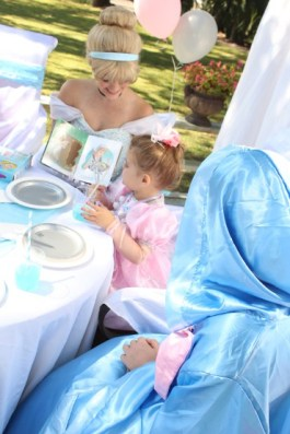 Cinderella Princess Party Character for Hire