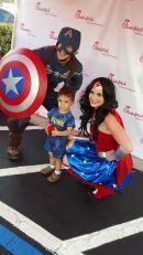 Captain America Wonder Woman Superhero Birthday Jacksonville