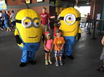 Minions Character for Birthday Party Events in Jacksonville