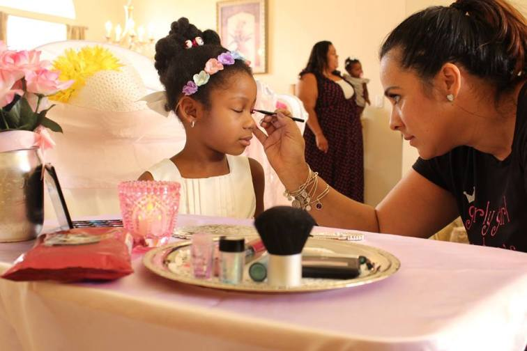 Tea Party Makeovers