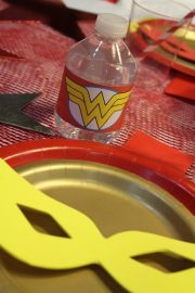 Wonder Woman Superhero Birthday
