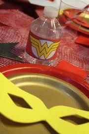 Wonder Woman Superhero Birthday