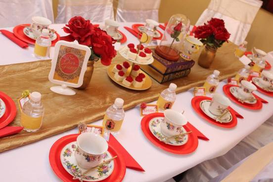 Be Our Guest Princess Tea Party Birthday