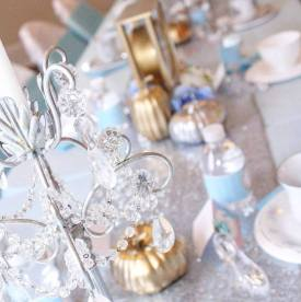 Cinderella Sparkle Birthday Party Decor
