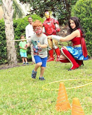 Combat Class Superhero Birthday Party