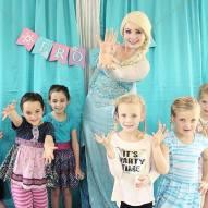 Frozen Elsa Birthday Party