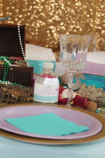 Gold Mermaid Party Planner
