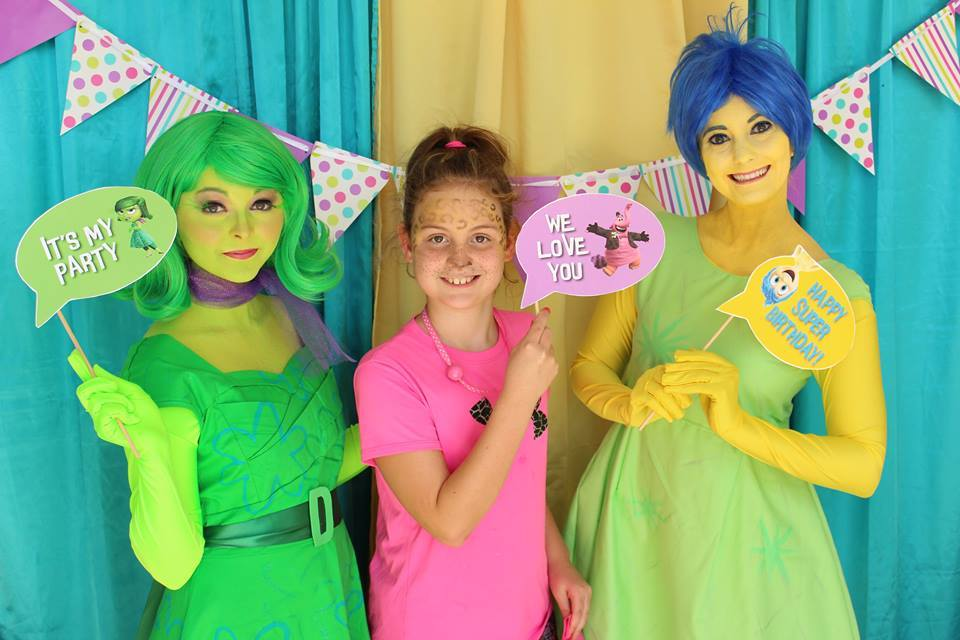 Inside Out Birthday Party