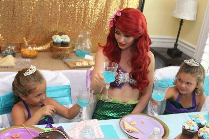 Mermaid Birthday Party Planner