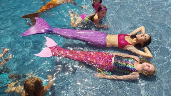 Mermaid Pool Party Birthday