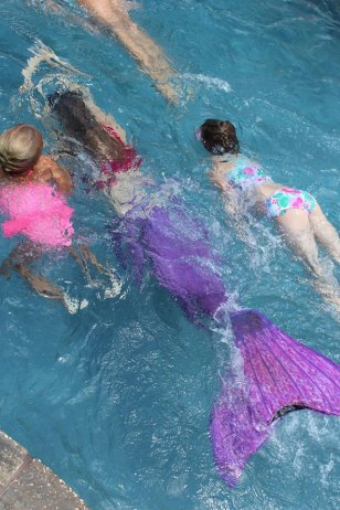 Mermaid Races Birthday Party