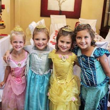 Princess Birthday Party Photo