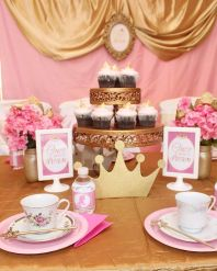 Sleeping Beauty Aurora Birthday Tea Party