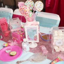 Sweet Spa Centerpiece Birthday Party