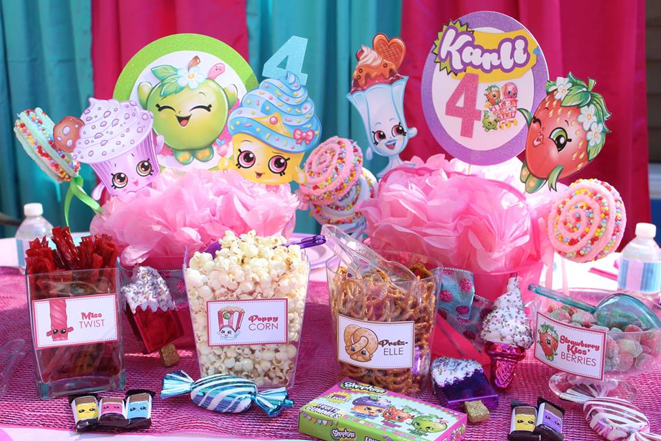 Shopkins Inspired Birthday Party